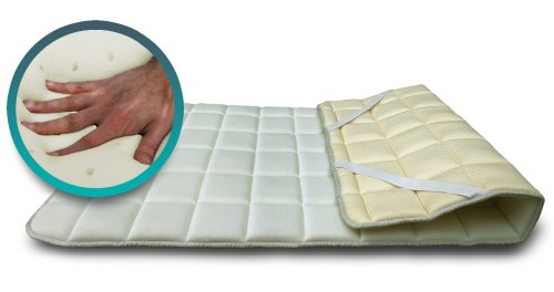 SH3 Visco-Topper, Memory-Schaum, Ergänzung für Matratzen oder Matratzenbezüge