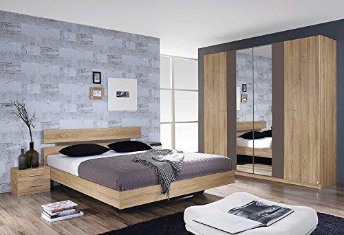lifestyle4living Schlafzimmer, Schlafzimmermöbel, Set ...