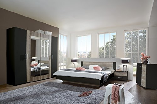 Dreams4Home Schlafzimmerkombination 'Barma VI', Schlafzimmer, Schlafzimmer komplett, Schlafzimmer Set