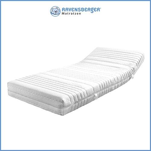 Ravensberger ORTHOPÄDISCHE 7-Zonen HR Kaltschaummatratze H2 RG 40 (45-80 kg) Medicott-SG 140x200 cm
