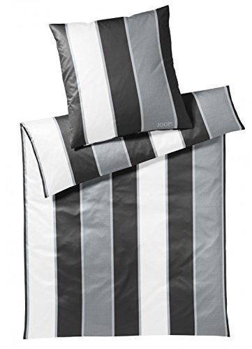 JOOP! Bettwäsche Line 4055 Fb. 0 - Black/White Größe: 135 x 200 cm