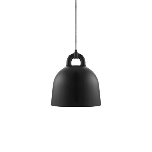 Normann Copenhagen - Bell Hängeleuchte - Schwarz - Ø 35 cm - Andreas Lund & Jacob Rudbeck - Design - Deckenleuchte - Pendelleuchte - Wohnzimmerleuchte