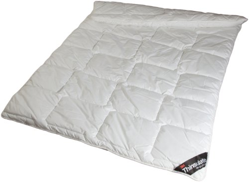 Thinsulate 100021082 Faser-Monodecke waschbar 60 Grad, 155 x 220 cm