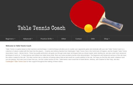 Table Tennis Coach