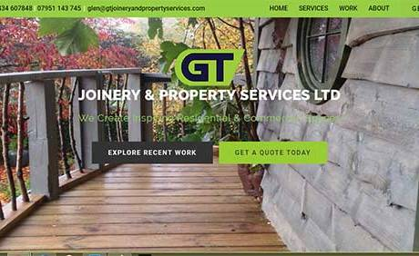Joinery and Property Services Ltd Homepage