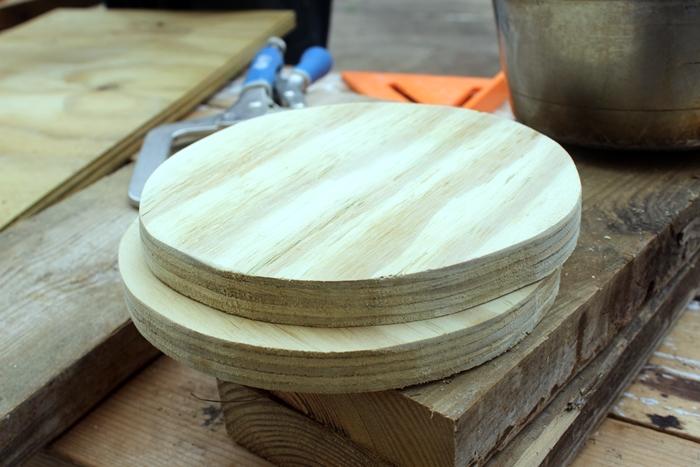 plywood stove burners