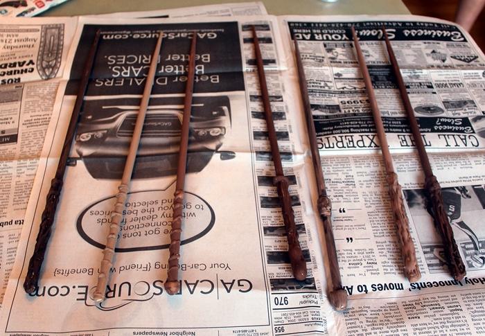 Diy harry potter wands wands13s solutioingenieria Choice Image
