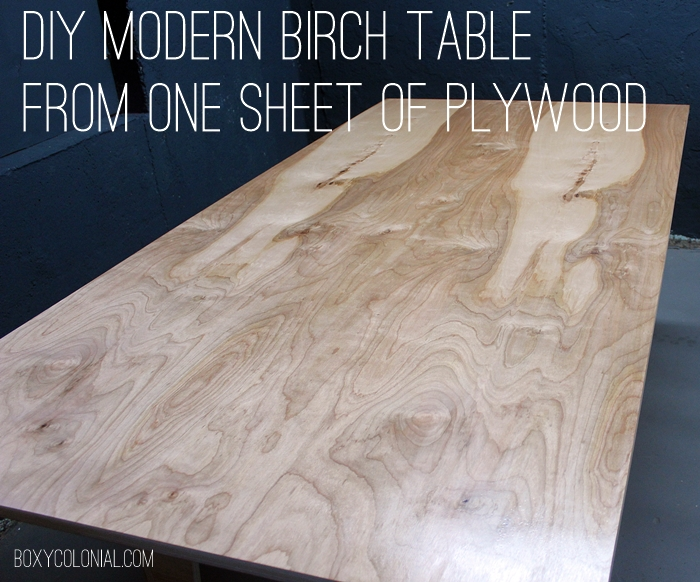 HomeMade Modern EP41 The Easy DIY Table