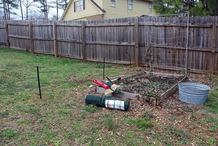 garden fence supplies