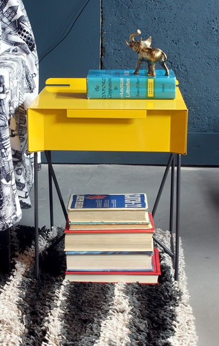 A Modern End Table For The Basement From Sauder