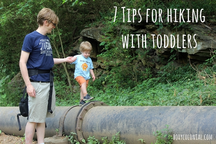 7 tips for hiking with toddlers