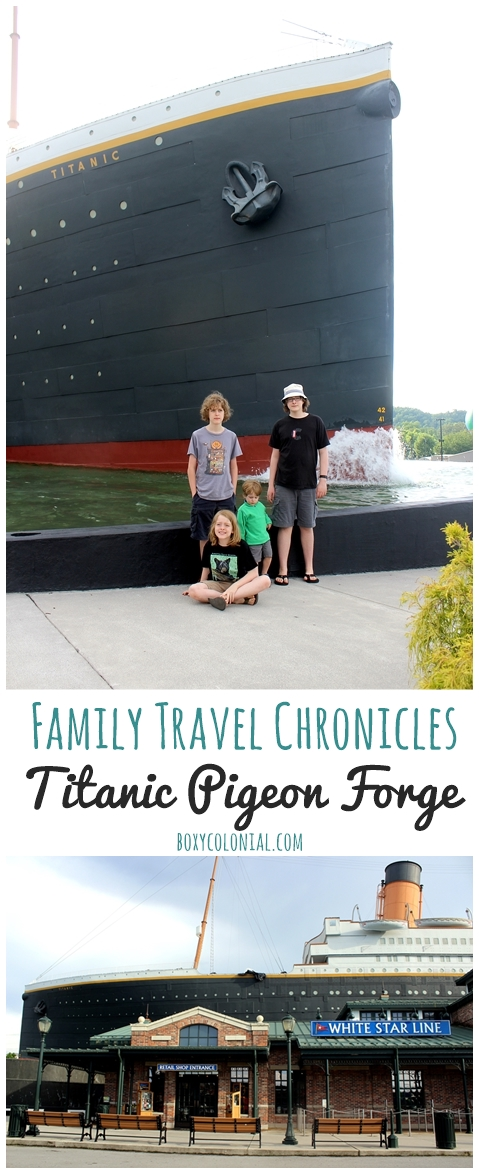 Our visit to (and review of) the Titanic Pigeon Forge Museum