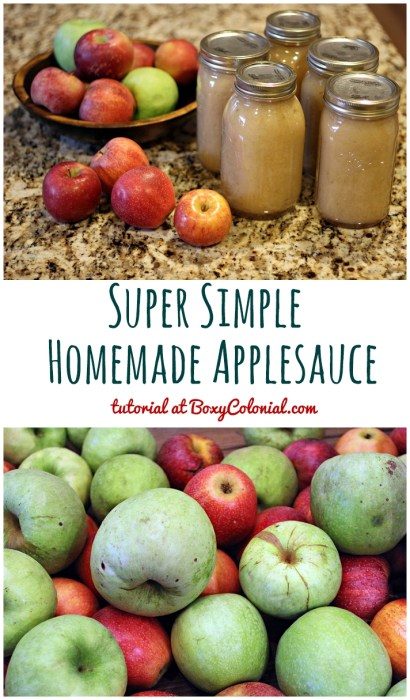 Recipe to make simple, one ingredient homemade applesauce with help from your Kitchenaid mixer