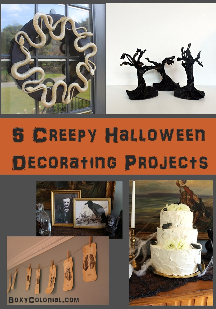Five ideas for creepy, literary, quirky Halloween decorating projects
