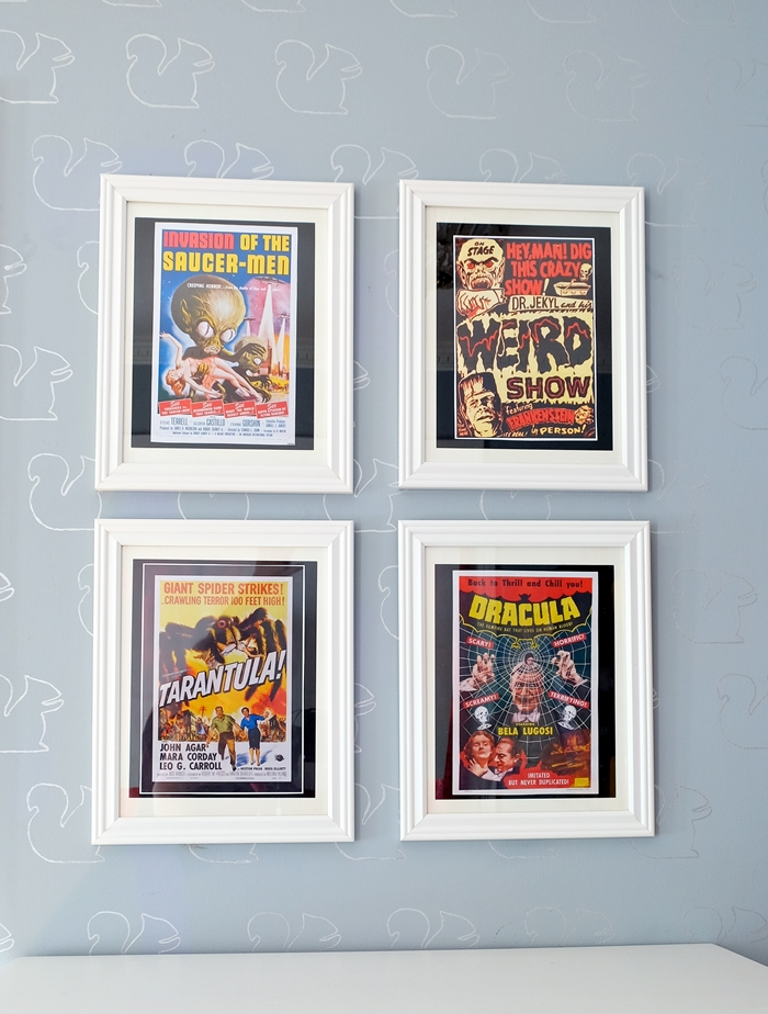 photograph relating to Movie Posters Printable known as Typical Horror Video clip Posters: Straightforward and Cost-effective Halloween