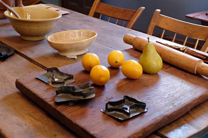 kitchen in boyhood home of woodrow wilson