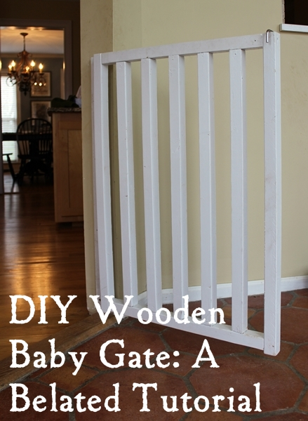 diy baby and dog gate tutorial