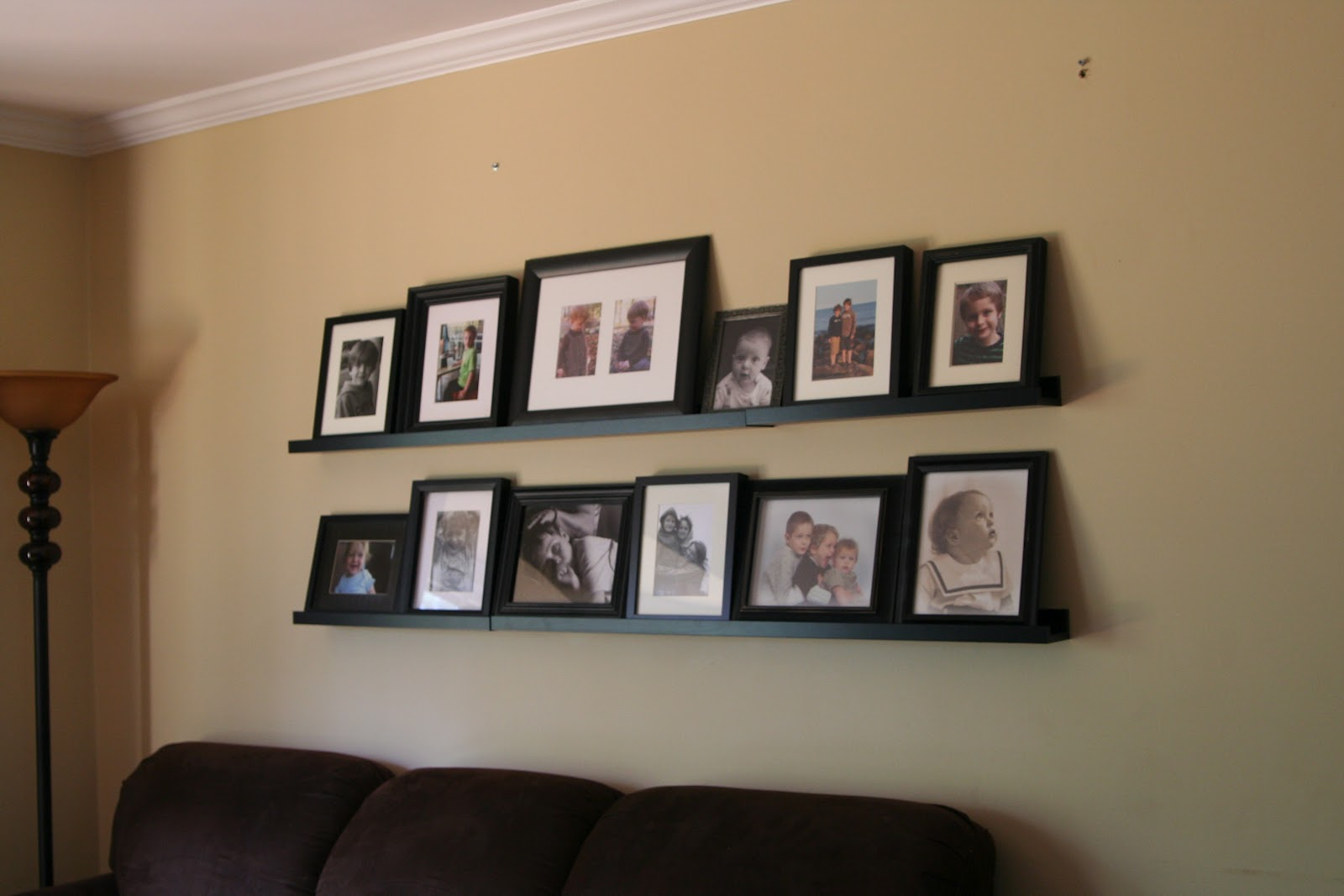 Ikea Ribba Picture ledge hanging: proving we can accomplish things ...