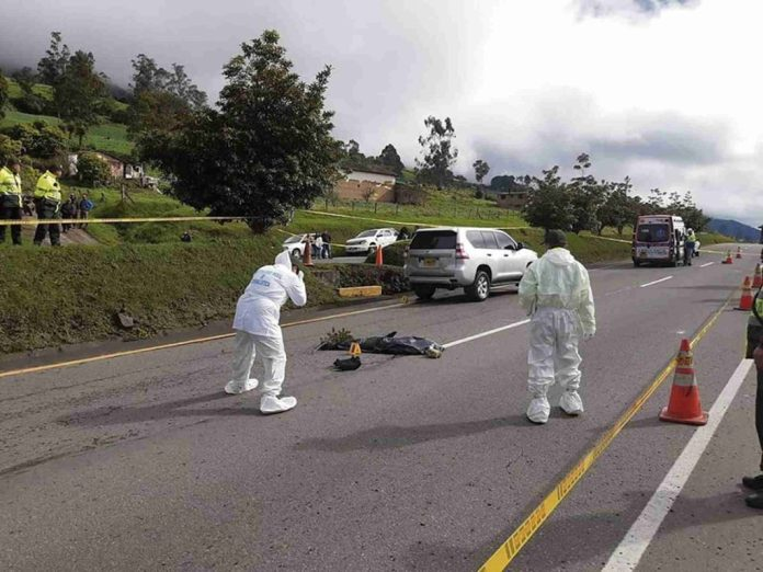 Accidente en Ventaquemada
