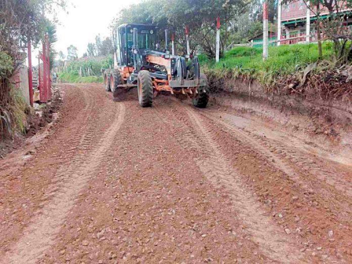 Obras y arreglos en vías terciarias