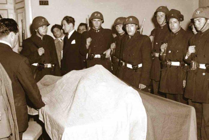 Cuando Murió Gustavo Joménez