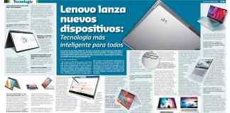 Lenovo lanza nuevos dispositivos