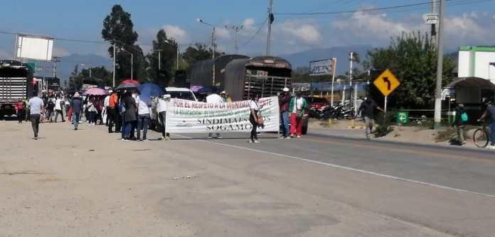 Avanza la manifestación en Boyacá 1