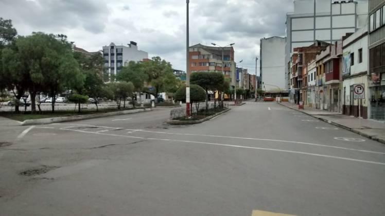 [Galería] Las calles de Boyacá permanecen solas en el primer día de Simulacro de Aislamiento por COVID - 19 6