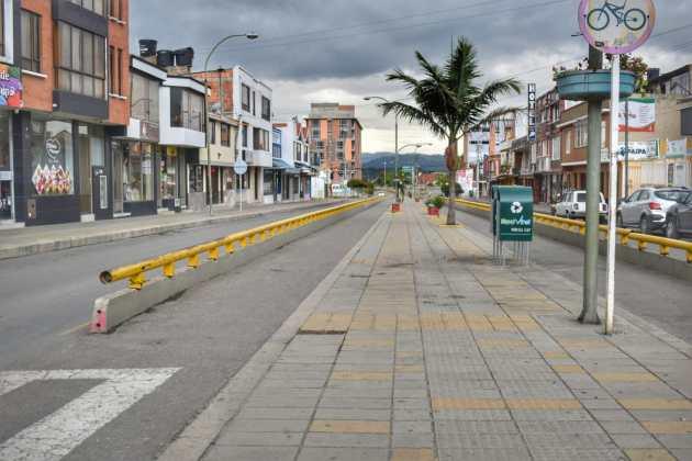 [Galería] Las calles de Boyacá permanecen solas en el primer día de Simulacro de Aislamiento por COVID - 19 37
