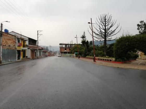 [Galería] Las calles de Boyacá permanecen solas en el primer día de Simulacro de Aislamiento por COVID - 19 46