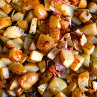 Garlic & Rosemary Potatoes