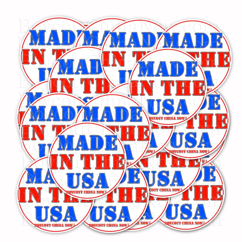 Made In The USA Stickers 2 Pack RD 1