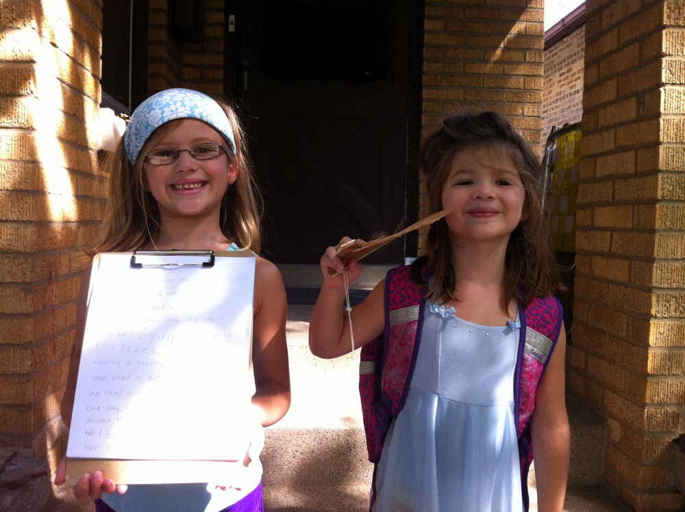 First day of school 2013.