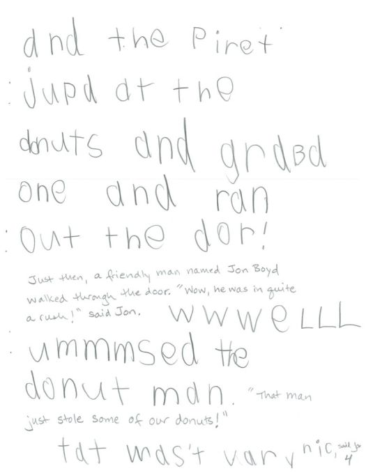 The Donut Pirate, page 4