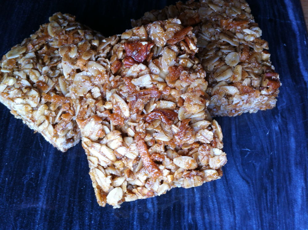 The best crunchy granola bars