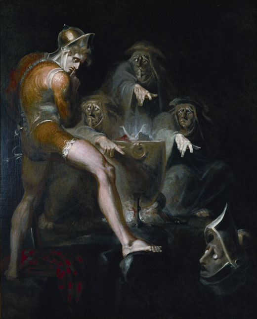 Macbeth consulting the Vision of the Armed Head by Henry Fuseli