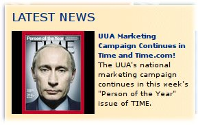 "Putin on Time ""Man of the Year"" cover, at UUA.org"
