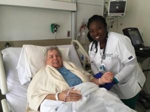 Ann and my Student nurse, Carol.
