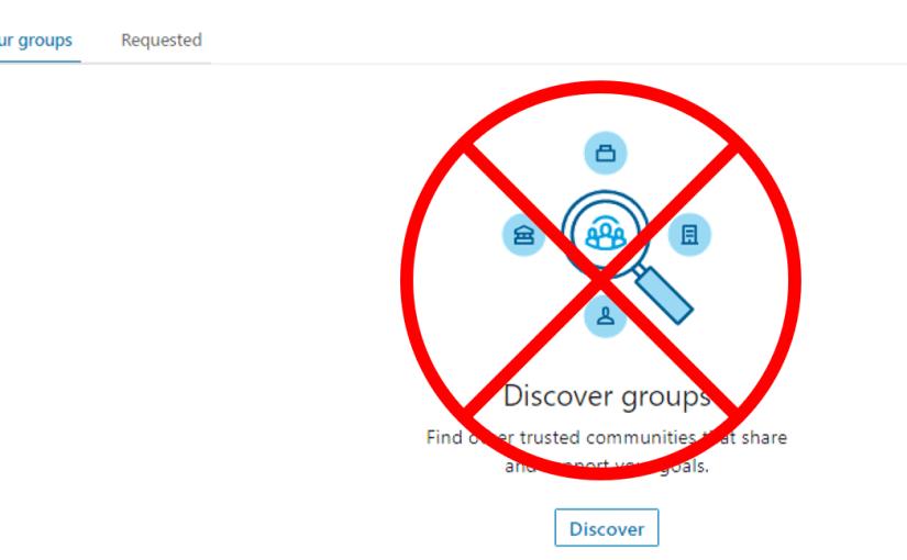 Why I Left LinkedIn Groups