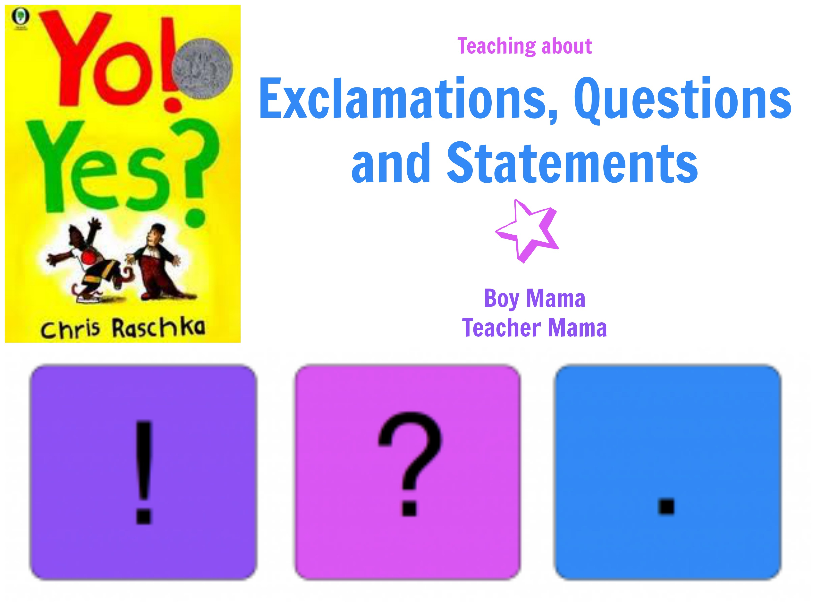 Boy Mama Teacher Mama Statement Exclamation And