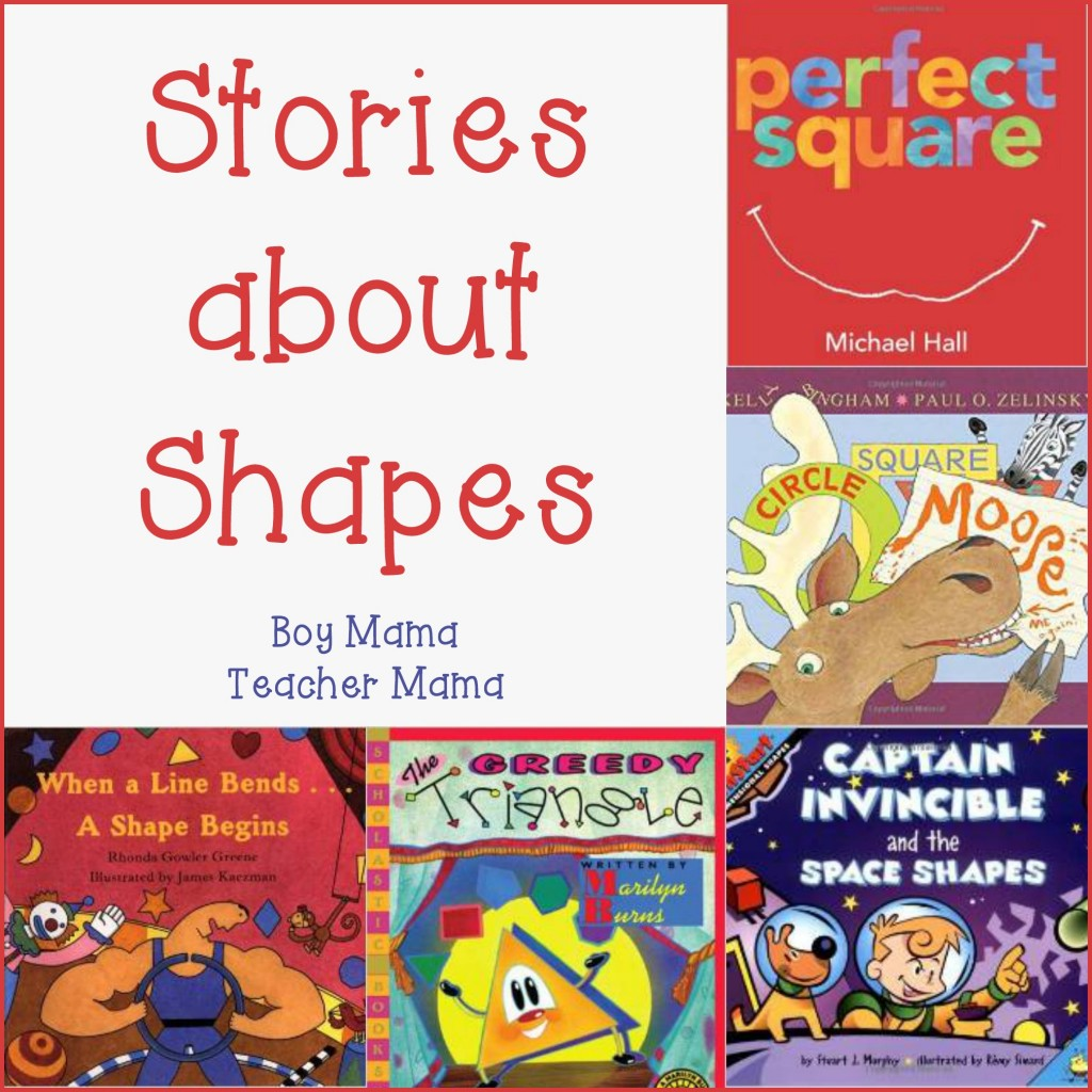 Book Mama Stories About Shapes After School Linky