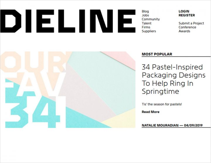Dieline to Keep You Inspired