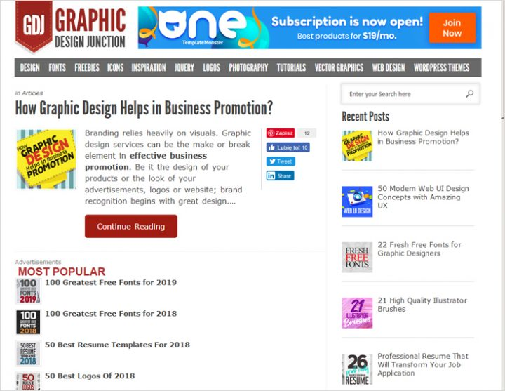 Graphic Design Junction blogs every designer can get behind