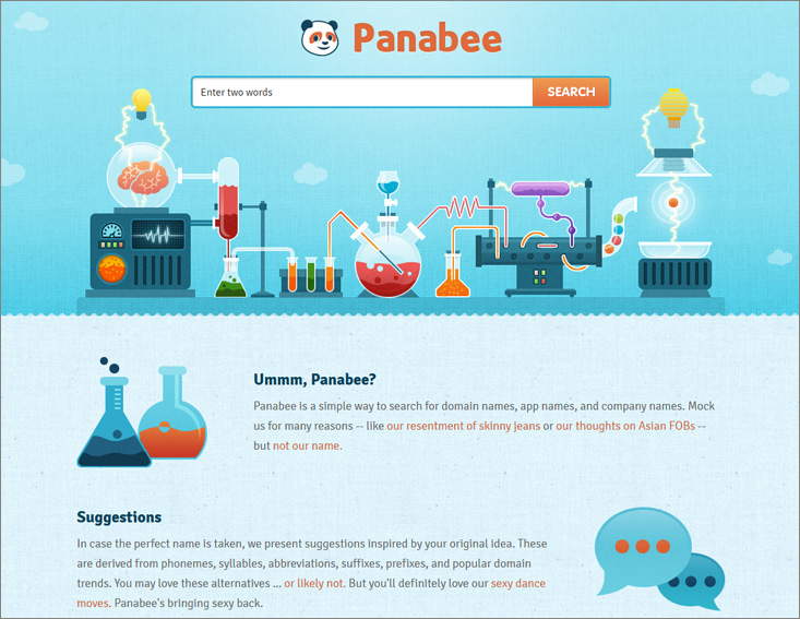 Panabee - blog name generator