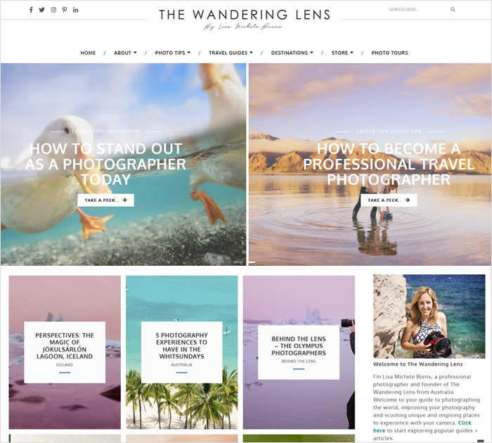 The Wandering Lens