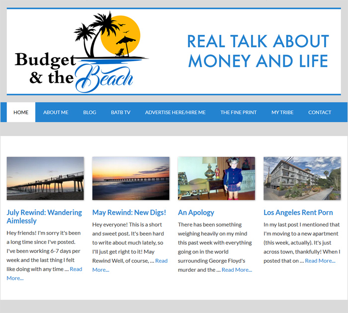 Budget and the beach - Best Personal Finance Blogs