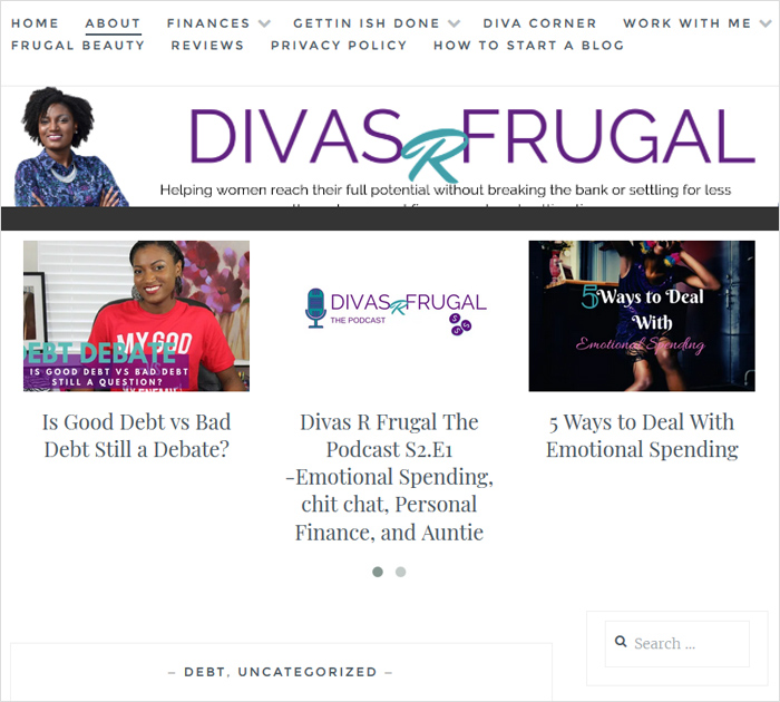 Divas R Frugal - Personal Finance Blogs