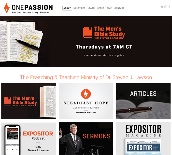 onepassionministries - Best Christian Blogs