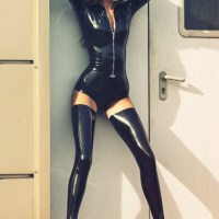 What A Squeeze (Latex And Spandex)