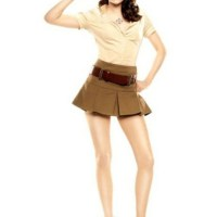Lovely Ladies With Skimpy Skirts And Long Long Legs